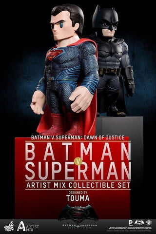 Hot Toys Batman vs Superman SET Artist Mix Figures Dawn of Justice - Collectors Row Inc.
