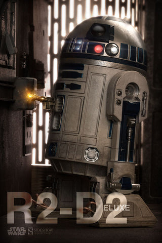 R2-D2 Deluxe Sixth Scale Figure by Sideshow Collectibles - Collectors Row Inc.