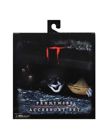 NECA - IT - Pennywise Accessory Pack - 2017 Movie Accessory Set Pennywise - Collectors Row Inc.