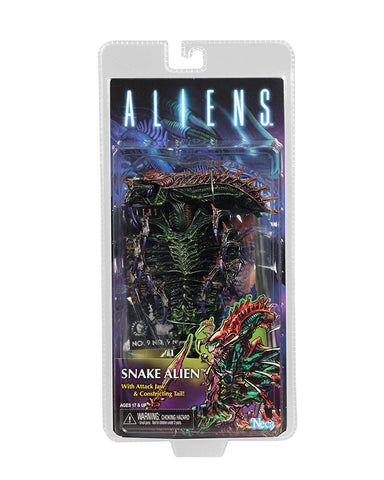 "NECA - Aliens - 7"" Scale Action Figure - Series 13 Snake - Collectors Row Inc."