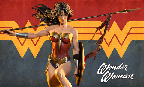 Wonder Woman DC Comics Premium Format Figure by Sideshow Collectibles - Collectors Row Inc.