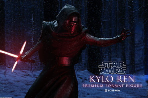 Sideshow Collectibles Star Wars Kylo Ren Premium Format Figure Statue - Collectors Row Inc.