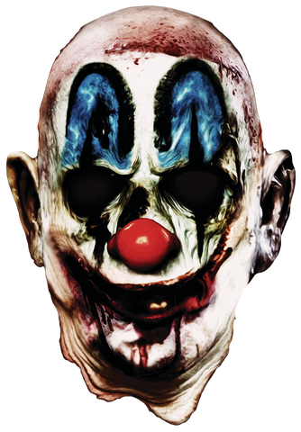 Rob Zombie Halloween Clown Mask.Rob Zombie 31 Poster Full Head Mask By Trick Or Treat Studios