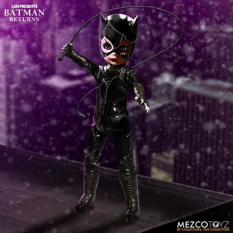 Mezco Batman Returns: Catwoman Living Dead Dolls LDD Presents - Collectors Row Inc.