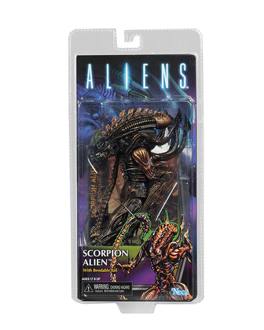 "NECA - Aliens - 7"" Scale Action Figure - Series 13 Scorpion - Collectors Row Inc."