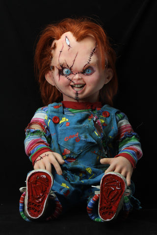 NECA - Bride of Chucky - 1:1 Replica - Life-Size Chucky - Collectors Row Inc.