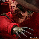 Mezco Freddy Krueger Living Dead Dolls Presents Nightmare on Elm Street Talking Figure - Collectors Row Inc.
