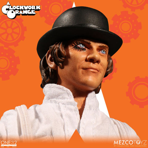 "Mezco One: 12 Collective A Clockwork Orange Alex Delarge 6"" Action Figure - Collectors Row Inc."