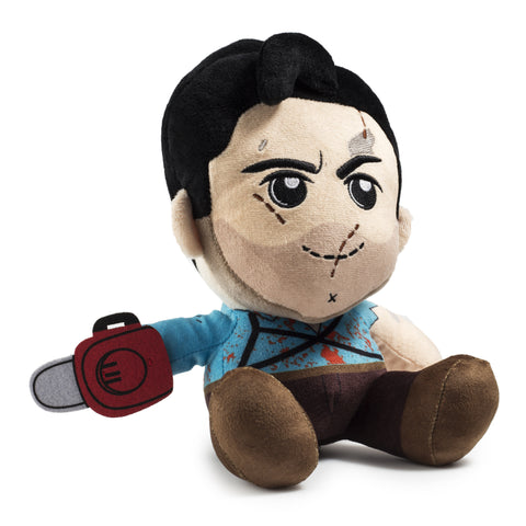 Kidrobot Evil Dead Ash Army of Darkness Phunny Plush - Collectors Row Inc.