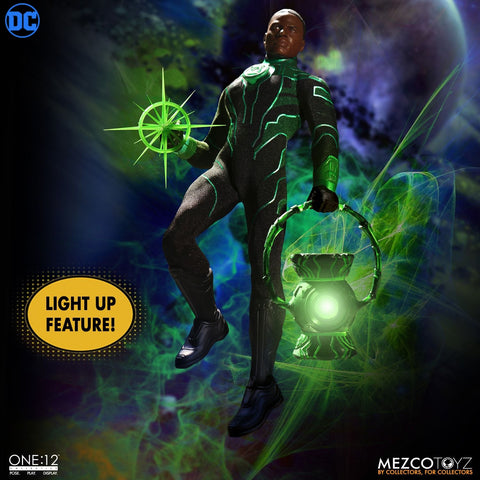 Mezco Green Lantern One:12 Collective John Stewart Action Figure