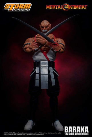 Mortal Kombat Storm Collectibles Baraka 1/12 Scale Action Figure