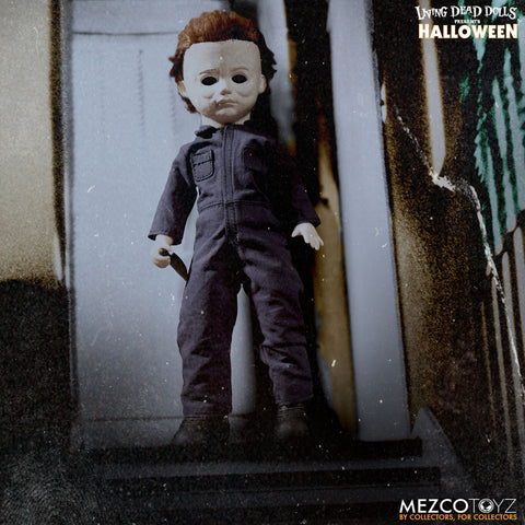 "Mezco Halloween Michael Myers 10"" Living Dead Dolls - Collectors Row Inc."