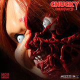 Child's Play 3: Talking Pizza Face Chucky by Mezco - Collectors Row Inc.