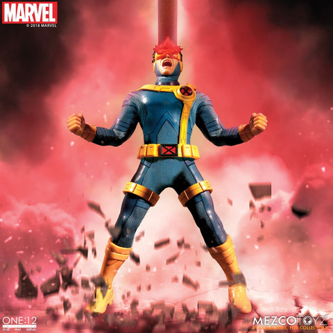 Mezco X-Men Cyclops Light Up One: 12 Collective: Marvel Action Figure