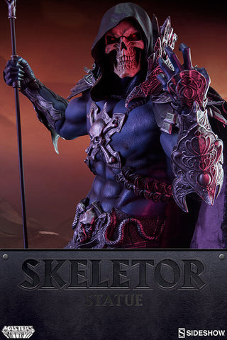 Skeletor Masters of the Universe Statue by Sideshow Collectibles - Collectors Row Inc.
