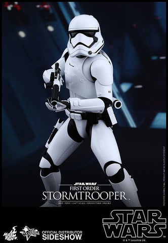 First Order Stormtrooper Star Wars Movie Masterpiece Series - Sixth Scale Figure by Hot Toys