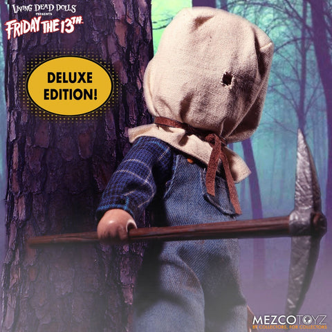 Mezco Jason Voorhees Living Dead Dolls Deluxe Edition Friday The 13th Part II - Collectors Row Inc.