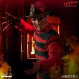 Mezco Freddy Kreuger One 12 Collective Figure A Nightmare on Elm Street - Collectors Row Inc.