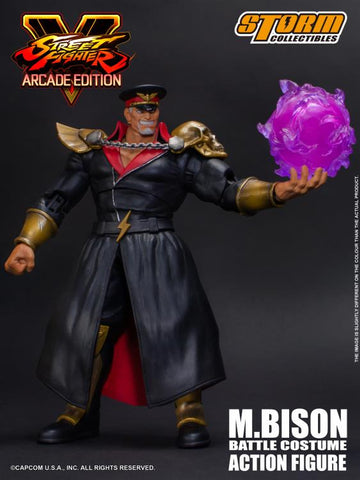 Street Fighter V M. Bison (Arcade Edition) 1/12 Scale Figure by Storm Collectibles - Collectors Row Inc.