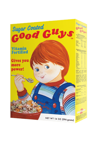 Chucky Child's Play 2 Good Guys Doll Cereal Box by Trick Or Treat Studios - Collectors Row Inc.