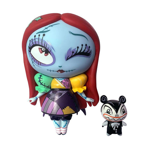 Nightmare Before Christmas Sally Special Holiday Edition World of Miss Mindy Vinyl Figurine - Collectors Row Inc.