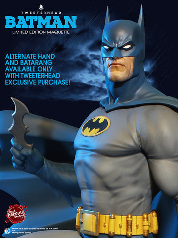 Tweeterhead Batman Super Powers Maquette DC Comics EXCLUSIVE Statue - Collectors Row Inc.