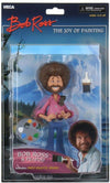 "Bob Ross – 6"" Scale Action Figure – Toony Classics Bob Ross with Peapod"