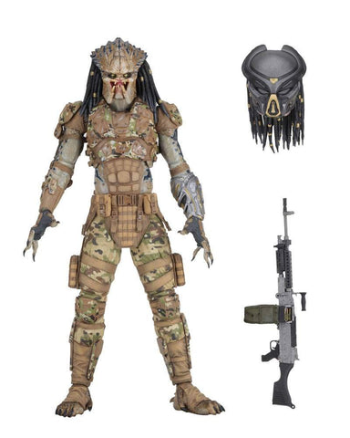 "NECA - Predator (2018) - 7"" Scale Action Figure - Emissary 2 - Collectors Row Inc."