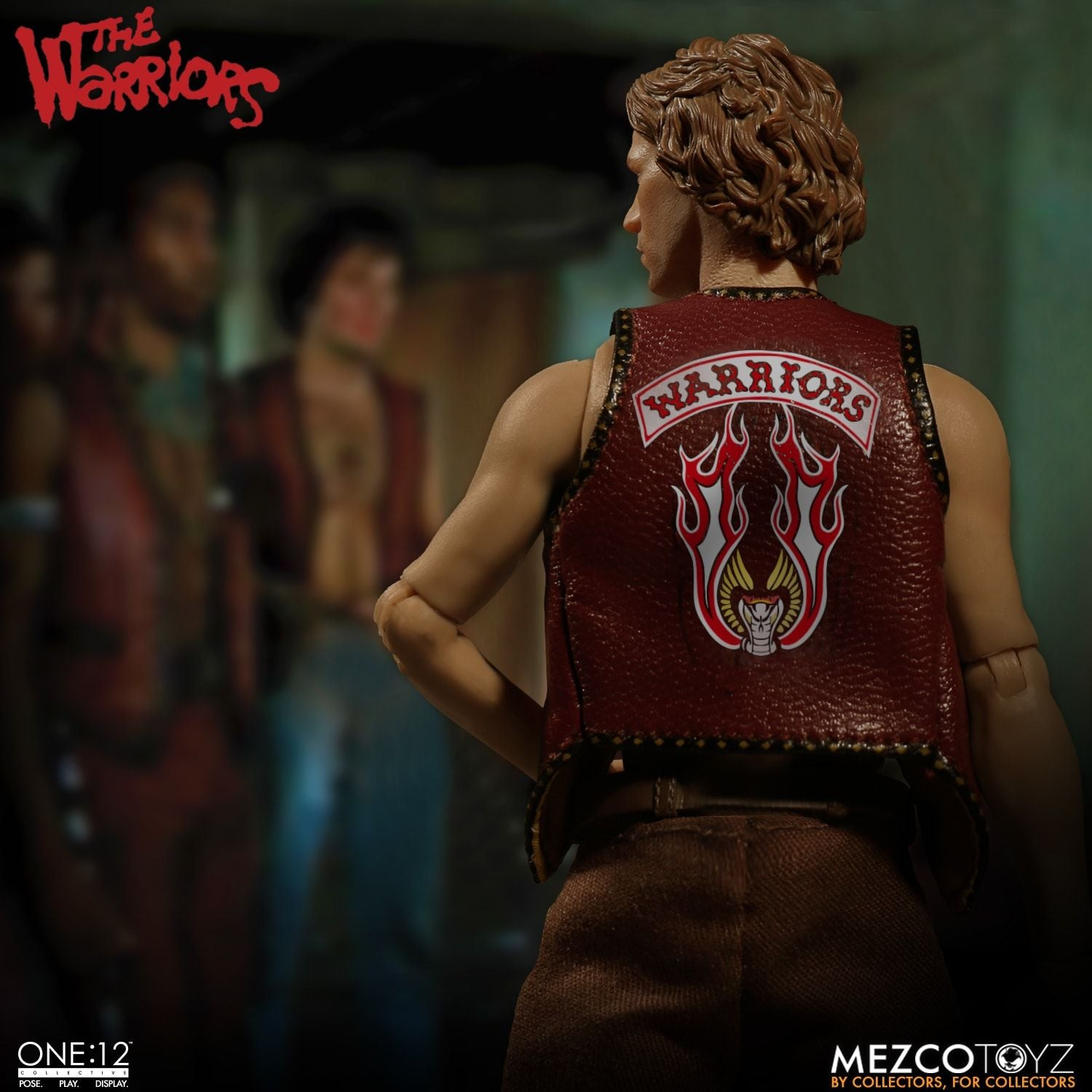 Mezco Warriors One:12 Collective Action Figure Set wit Collectible Tin Case - Collectors Row Inc.