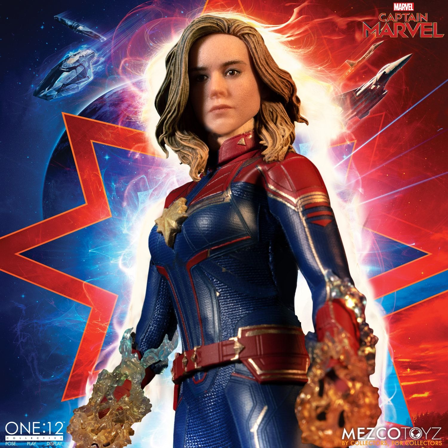 Captain Marvel One:12 Collective Action Figure - Collectors Row Inc.