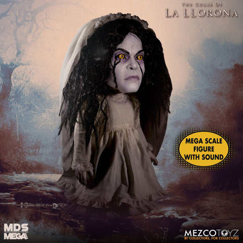 Mezco Designer Series MDS Mega Scale La Llorona Doll Figure - Collectors Row Inc.