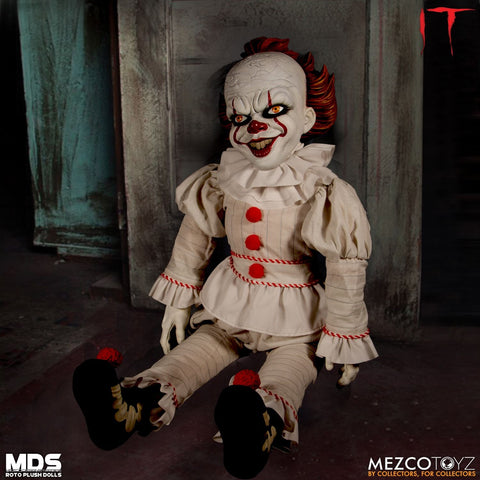 Mezco IT Pennywise Roto Plush Designer Series Figure MDS Doll