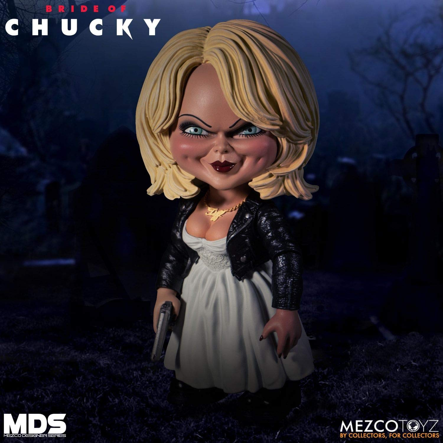 Mezco Tiffany Designer Series Bride of Chucky Figure - Collectors Row Inc.