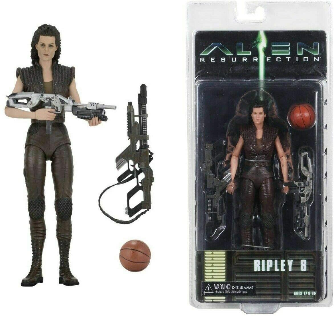 NECA Aliens - Alien Resurrection Ripley 8 Action Figure