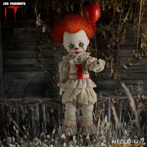 Mezco Living Dead Dolls IT Pennywise 2017 LDD Presents - Collectors Row Inc.