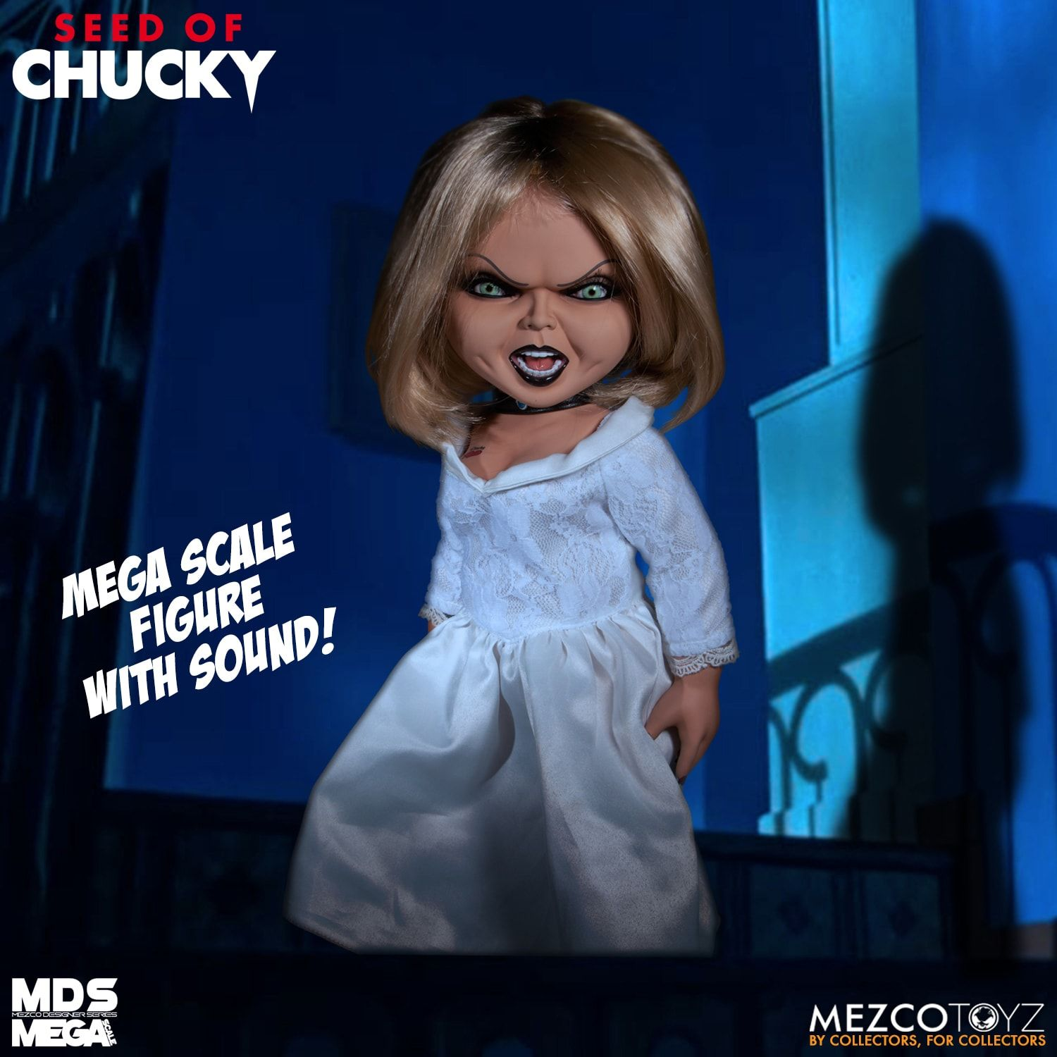 Seed of Chucky Talking Tiffany Mega Scale Action Figure