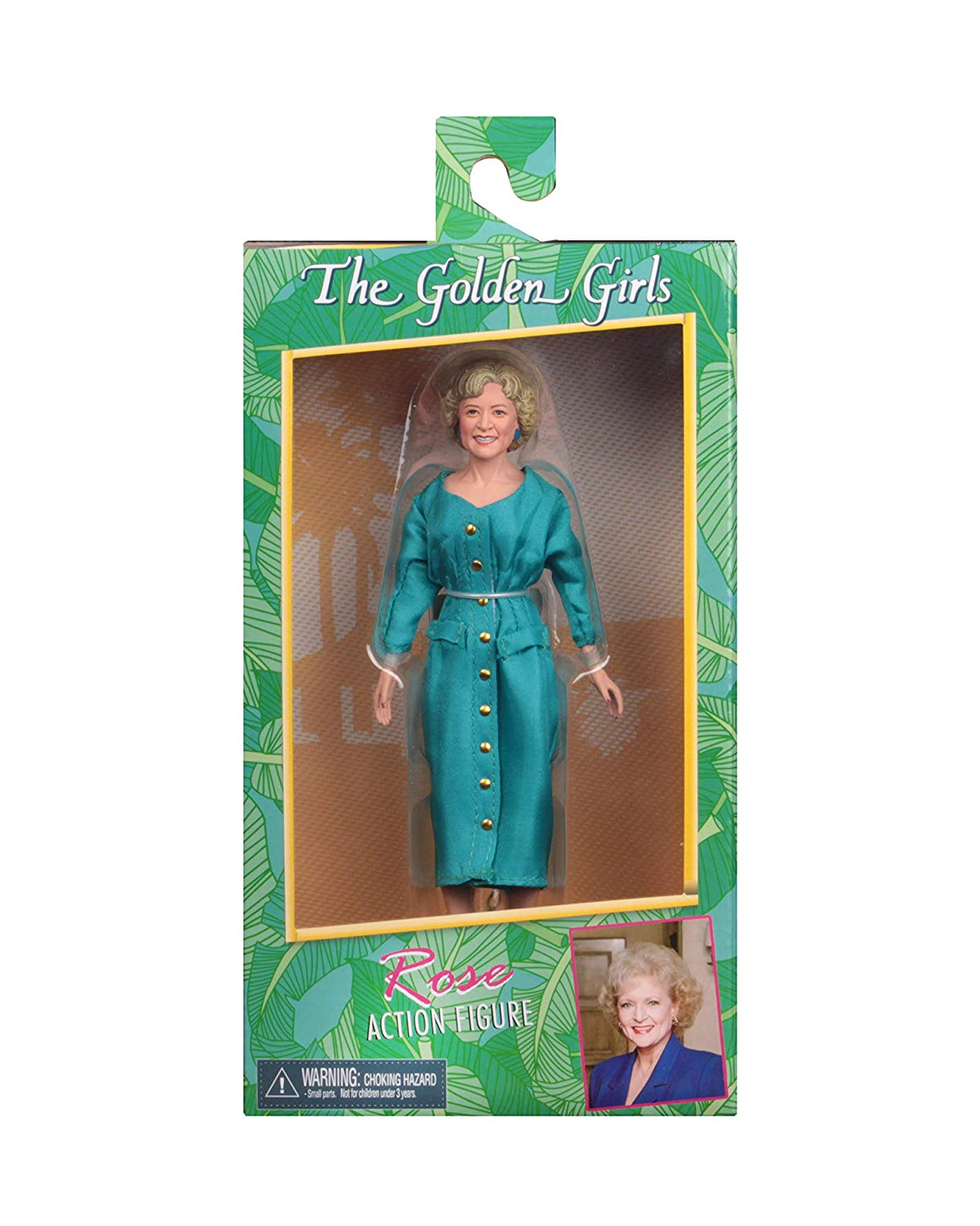 "NECA Golden Girls - Rose - 8"" Clothed Action Figure - Collectors Row Inc."