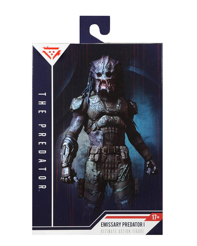 "NECA - Predator (2018) - 7"" Scale Action Figure - Ultimate Emissary #1 - Collectors Row Inc."