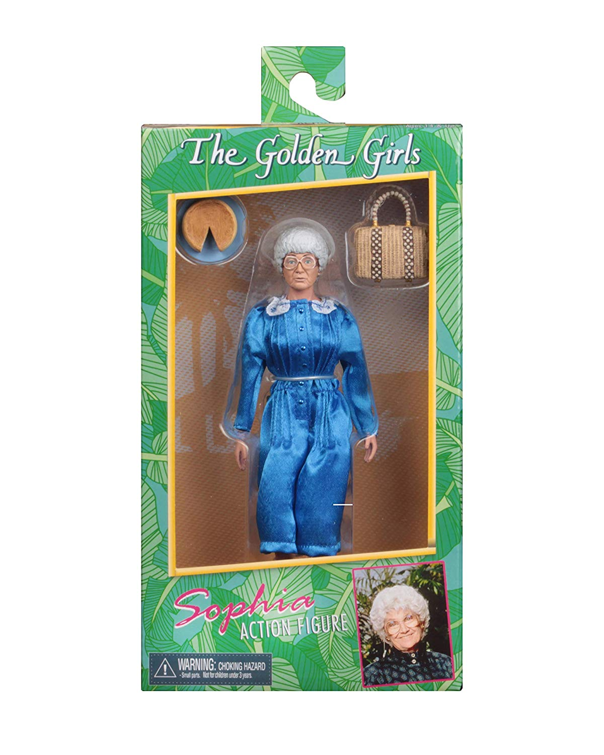 "NECA Golden Girls - Sophia - 8"" Clothed Action Figure - Collectors Row Inc."