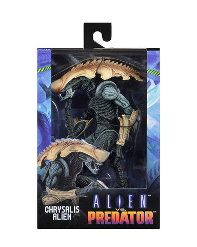 "NECA - Aliens vs Predator (Arcade Appearance) - 7"" Scale Action Figures - Chrysalis - Collectors Row Inc."