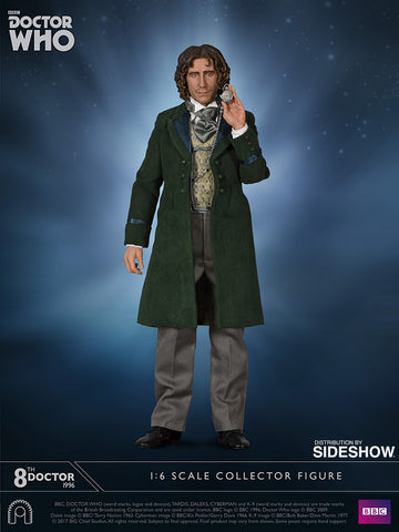 Doctor Who 8th Doctor 1/6 Scale Figure by Big Chief Studios - Collectors Row Inc.
