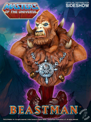 Tweeterhead Beastman Bust - Collectors Row Inc.