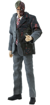 "Soap Studio Two-Face Harvey Dark Knight Batman 6"" Figure 1/12 Scale - Collectors Row Inc."