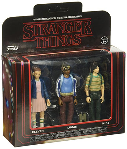 Funko Action Figure: Stranger Things 3PK-Pack 1 Collectible - Collectors Row Inc.