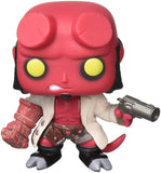 Funko Pop Comics Hellboy #01 with Jacket Vinyl Figure - Collectors Row Inc.