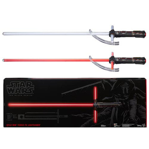 Star Wars Episode VII Kylo Ren Force FX Lightsaber by Hasbro - Collectors Row Inc.