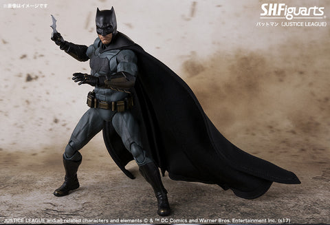 S.H Figuarts Batman Justice League Movie Action Figure by Bandai