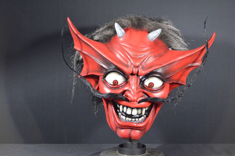 Iron Maiden Number of the Beast Devil Mask by Trick or Treat Studios - Collectors Row Inc.