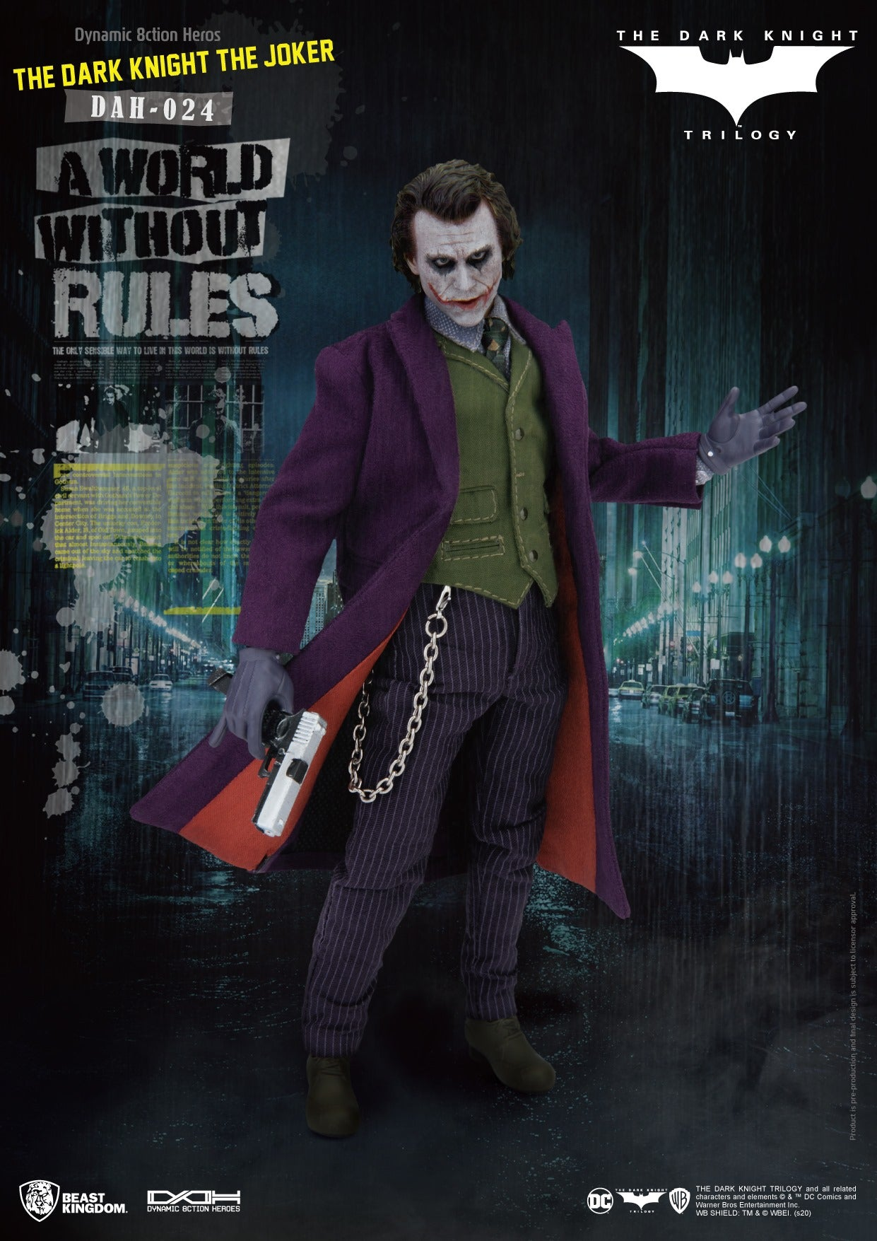Batman Dark Knight Joker Action Figure