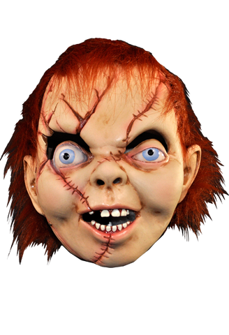 Bride of Chucky Halloween Mask by Trick or Treat Studios - Collectors Row Inc.